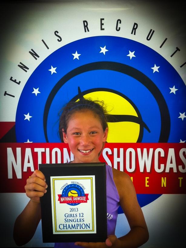 Kayleigh Wins First Title