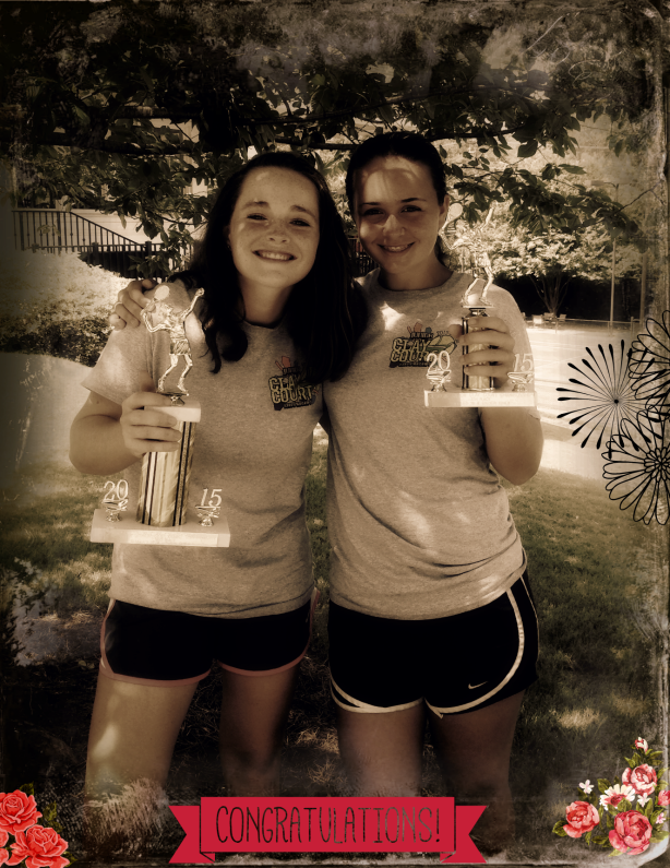 katey_and_kelsey_columbus_trophies_june_2015 2